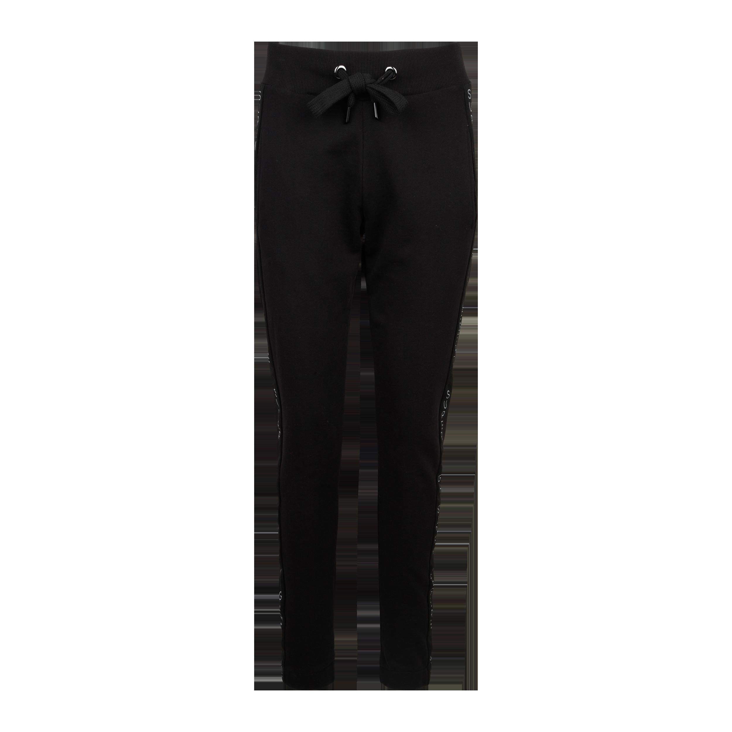 Sweatpants Logo Stripe black