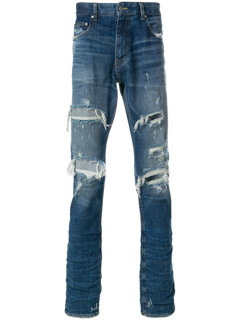 Classic Super Cool Jeans - destressed optik