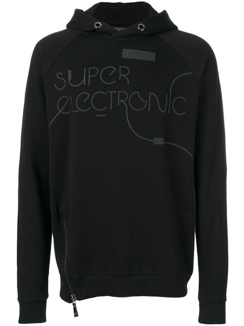 """Classic Fit Hoody - """"SUPER ELECTRONIC"""""""
