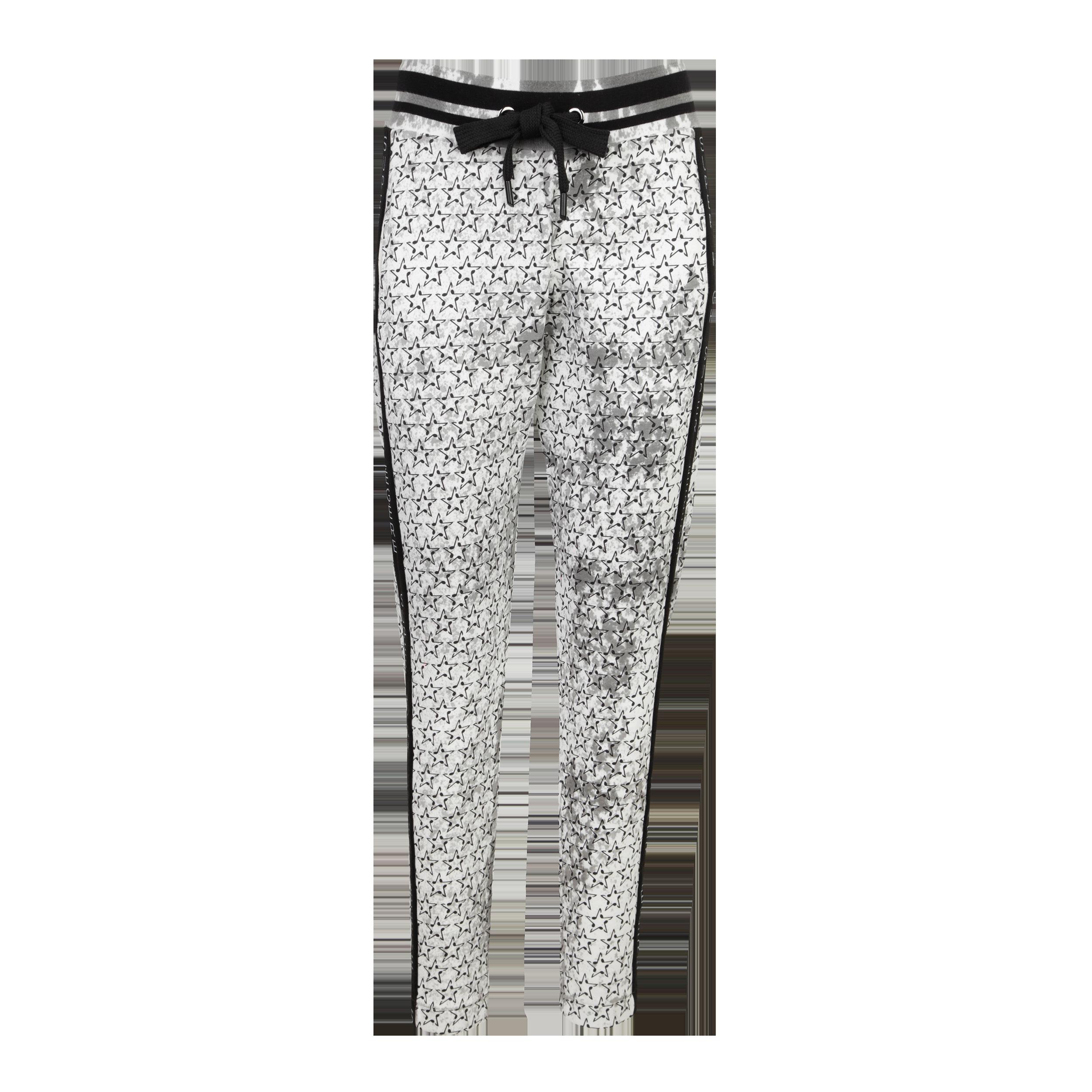 Sweatpants Musicstar Painted Stripe black