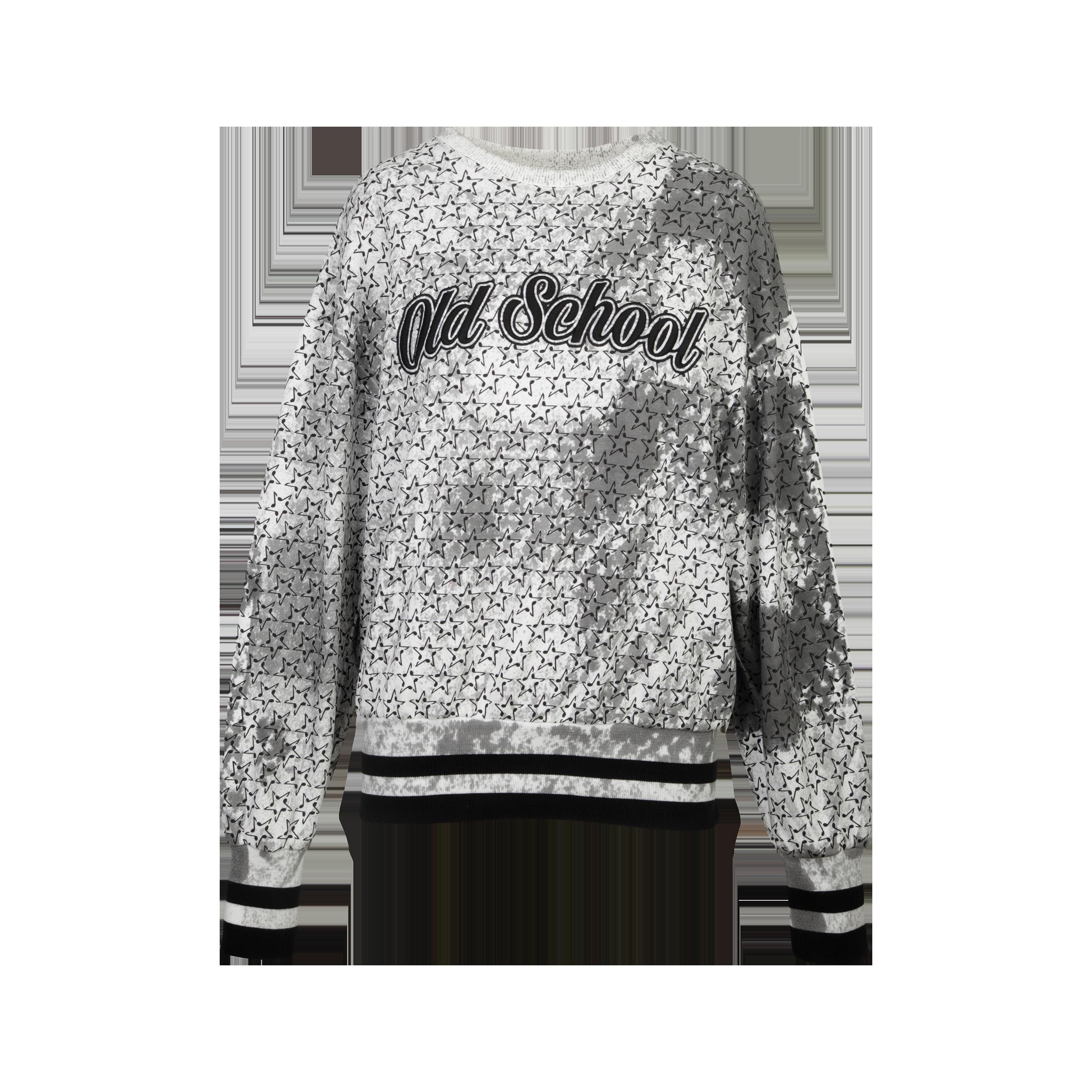 """Supersized Sweater """"Oldschool"""""""