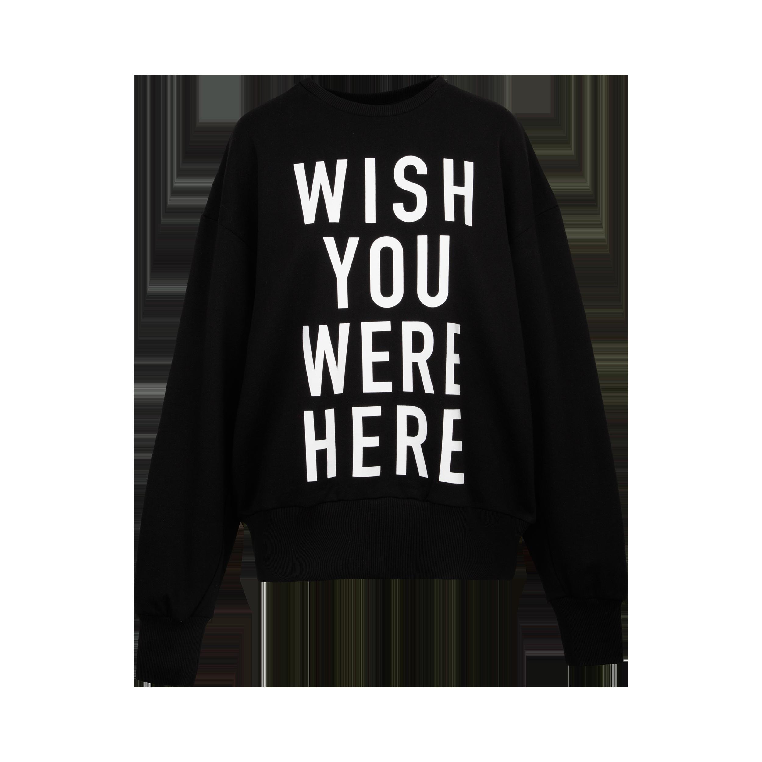 "Sweater ""wish you were here"""