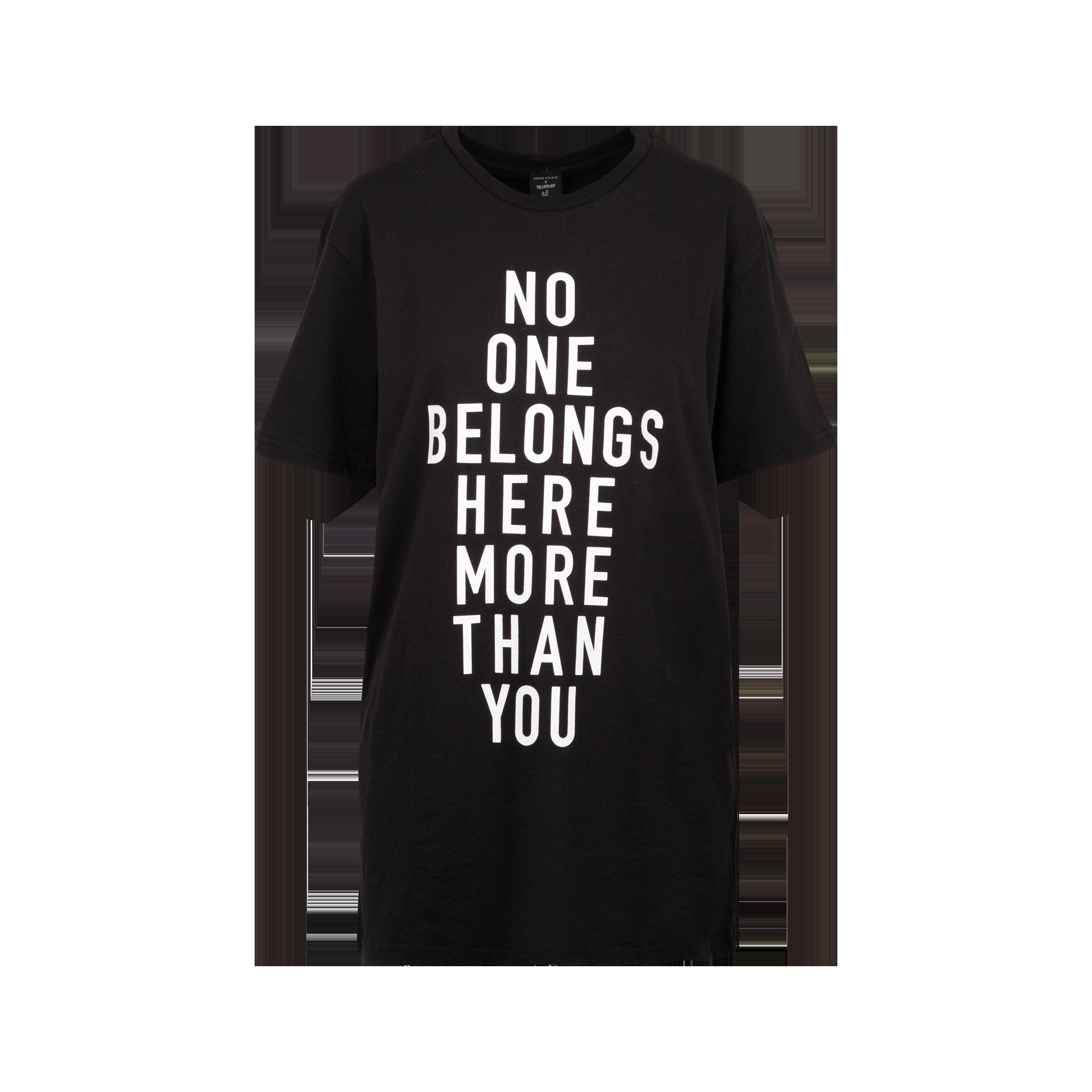 """T-Shirt """"No One"""""""