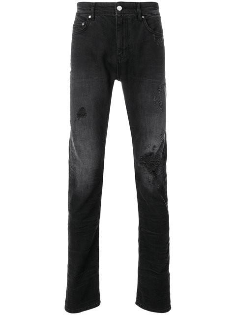 Classic Super Skinny Jeans - destressed optik