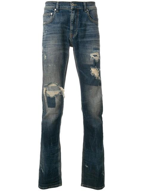 Classic Super Street Jeans - destressed optik