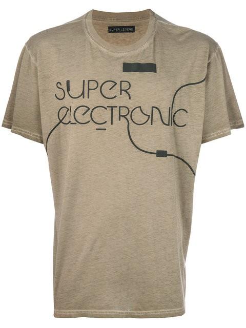 "Classic Fit T-Shirt - ""SUPER ELECTRONIC"""